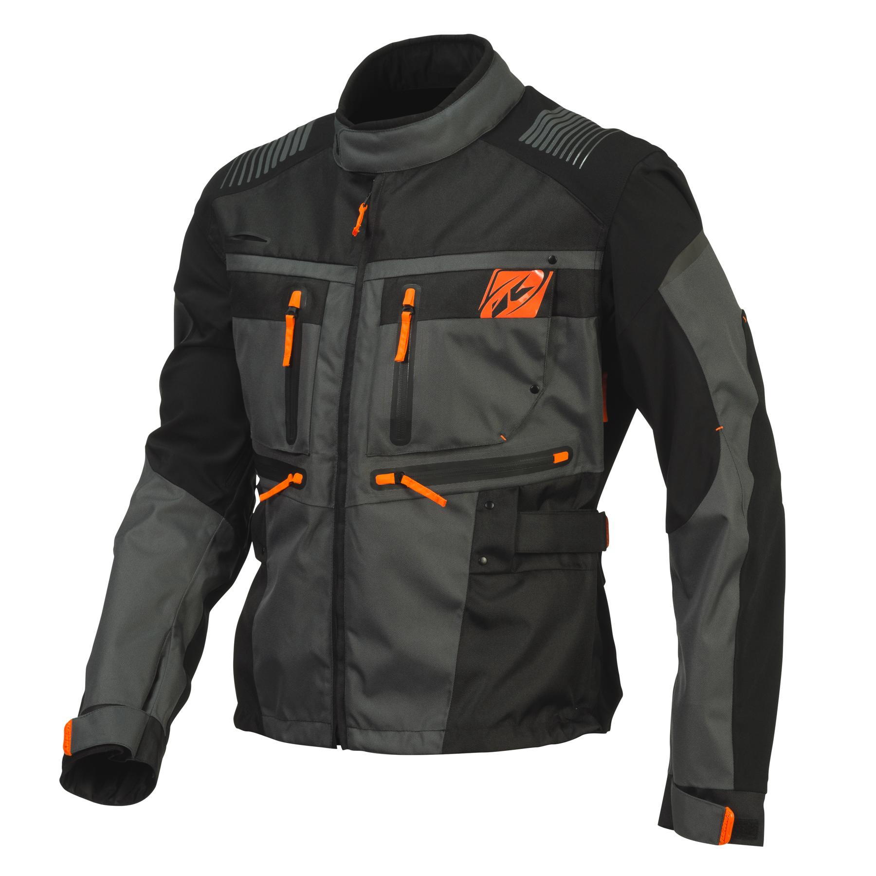 Veste enduro-one Noir//Orange Xl