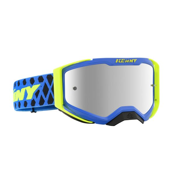 Lunette Performance level 2 blue neon yellow kenny racing