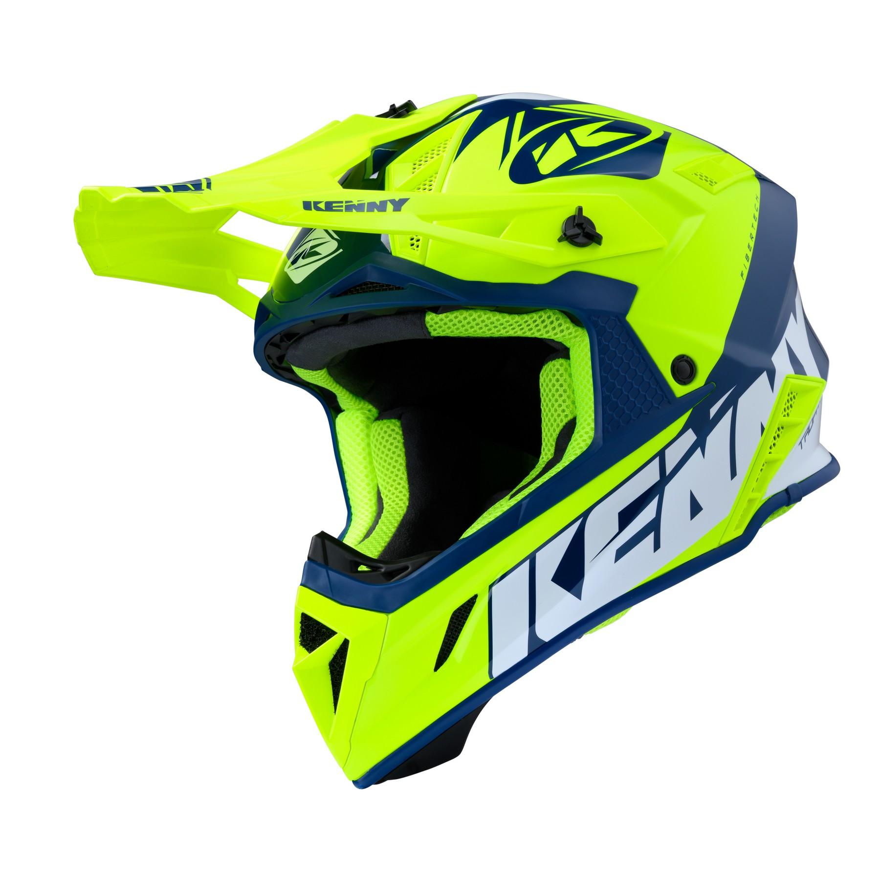 HELMET TROPHY Neon Yellow Kenny Racing