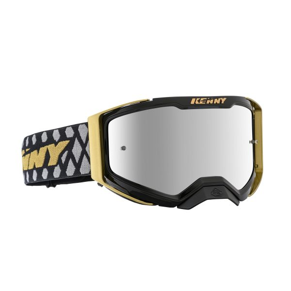 Lunette Performance level 2 black gold kenny racing