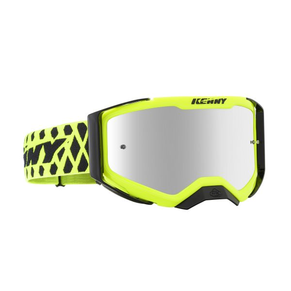 Lunette Performance level 2 neon yellow kenny racing